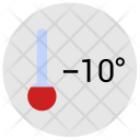 Temperature Condition Cold Icon
