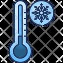 Low Temperature Thermometer Cold Icon