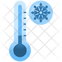 Low Temperature Thermometer Cold Icon