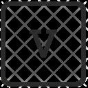 Lowcase V Element Icon