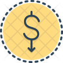 Lower Dollar Cheaper Inexpensive Icon
