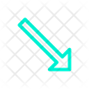 Arrow Lower Right Icon