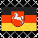 Lower Saxony On Land Icon