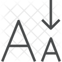Lowercase Icon