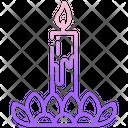 Loy Krathong Candle Culture Icon