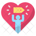Loyalty Love Tag Icon