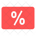 Loyalty Card Discount Icon
