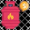 Lpg Price Icon