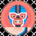Fighter Luchador Man Icon