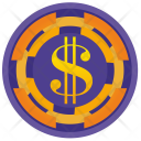 Luck Roll Dollar Icon