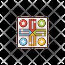Ludo Sport Game Icon
