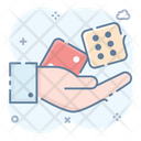 Ludo Dices Casino Game Gambling Icon