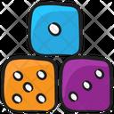 Ludo Dices Casino Gambling Icon