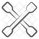 Lug Wrench Instrument Scraper Icon