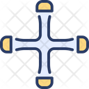 Lug Wrench Spanner Wheel Wrench Icon