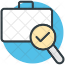 Luggage Scanning Search Icon