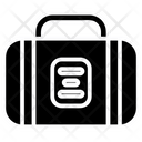 Luggage Travelling Holiday Icon