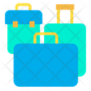 Luggage Baggage Trolly Bag Icon