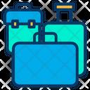Luggage Baggage Trolly Bag Icon