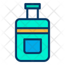 Baggage Trolly Bag Luggage Icon