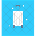 Luggage Trolley Bag Carry On Luggage Icon