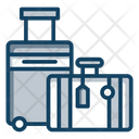 Luggage Travelling Bag Backpack Icon