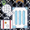 Travel Bag Trolley Bag Luggage Icon