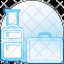 Luggage Baggage Duffle Icon