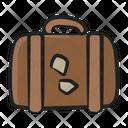 Luggage Travelling Bag Trolley Bag Icon