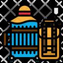 Luggage Baggage Briefcase Icon