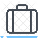 Carry On Luggage Suitcase Icon