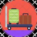 Public Transport Luggage Suitcase Icon
