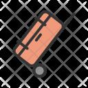Luggage Bag Trolley Icon