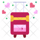 Luggage Travel Honeymoon Icon