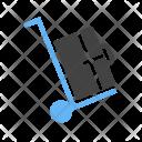 Luggage Handtruck Icon
