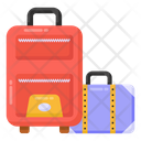 Suitcases Luggage Bags Icon
