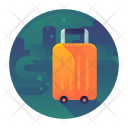 Travel Heavy Luggage Icon