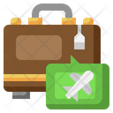 Luggage Flight Airplane Icon