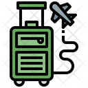 Luggage Baggage Travelling Icon