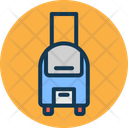Travelling Hand Luggage Bag Icon