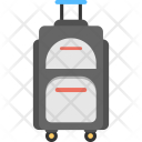 Trolley Bag Traveling Icon