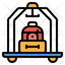 Luggage carrier Icon