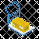 Luggage Cart Icon