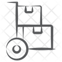 Pallet Truck Cart Luggage Cart Icon