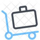 Cart Delivery Suitcase Icon