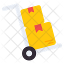 Luggage Cart Handcart Pushcart Icon
