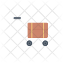Dolly Luggage Briefcase Icon