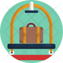 Luggage Dolly Luggage Carrier Icon