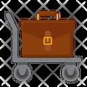 Luggage Trolley Luggage Handling Luggage Handling And Storage Icon