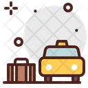 Pickup Luggage Pickup Taxi Icon